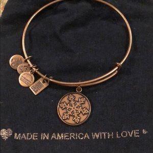 Team USA Winter Olympics Snowflake Bracelet